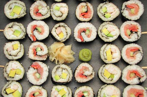 anisakis, sushi