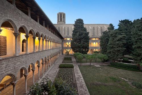 real monestir pedralbes vista