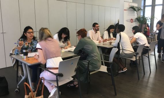 Speed dating a Barcelona