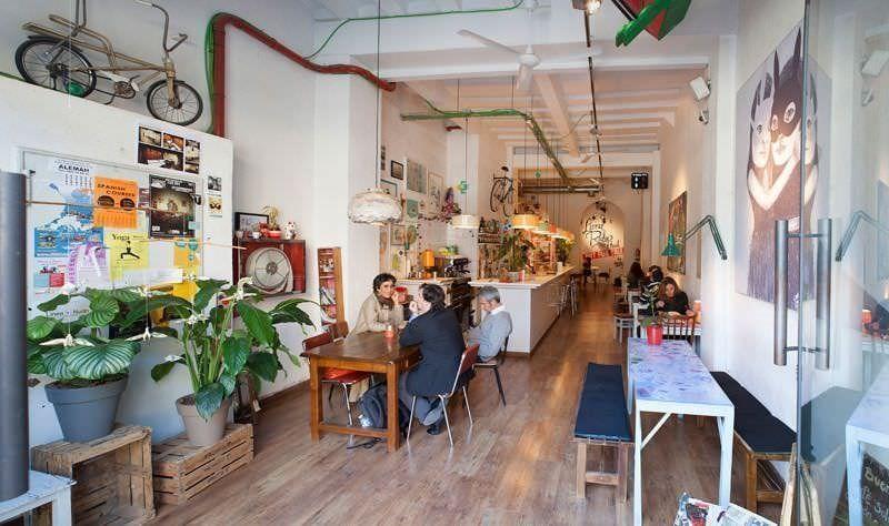 Cosmo Café-galeria Enric Granados