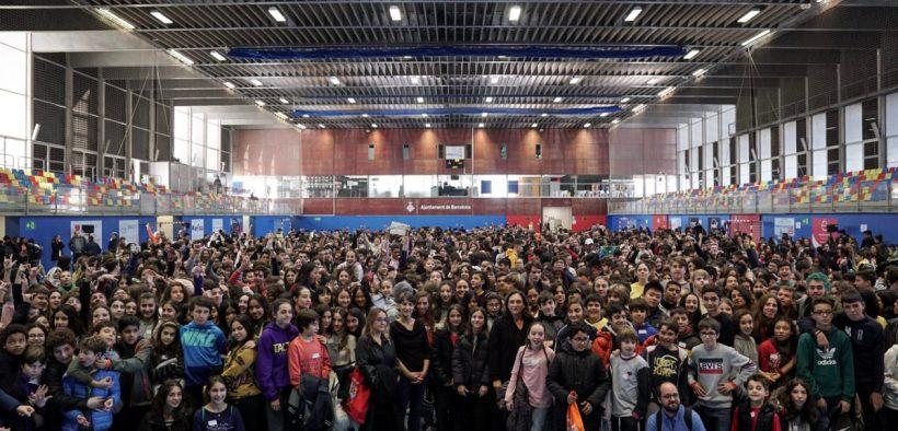 Els infants i adolescents de Barcelona repensen la ciutat en clau feminista i contra la violència masclista
